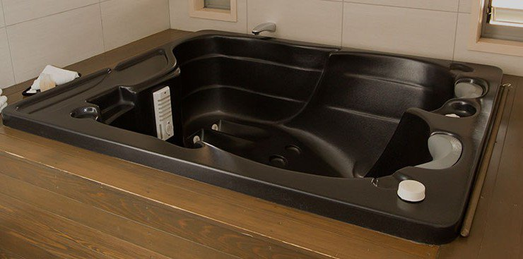 In room spa pool